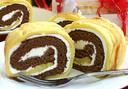 バレンタインエディション自然塩入りロールケーキ「ちょロー♪」【まるみや】