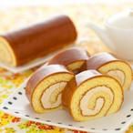 塩生キャラメルロールケーキ【花月堂】