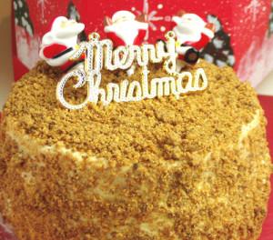 クリスマスケーキさくさくチーズのホールシフォン【HUMPTY DUMPTY】