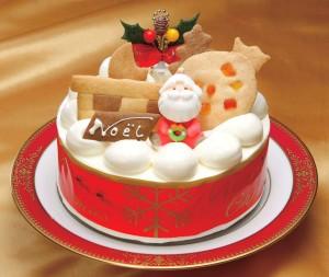 卵牛乳アレルギー対応クリスマスケーキ