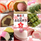 京菓子のお花見弁当【京みずは】