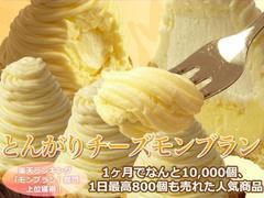 とんがりチーズモンブラン【銀座みもざ館】