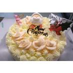 昔ながらのバタークリームX'MASデコレーションケーキ