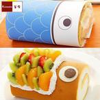 こいのぼりロールケーキ【釜庄】