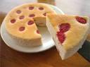 季節限定手摘みいちごフワフワ超濃厚いちごチーズケーキ【チーズケーキハウスチロル】