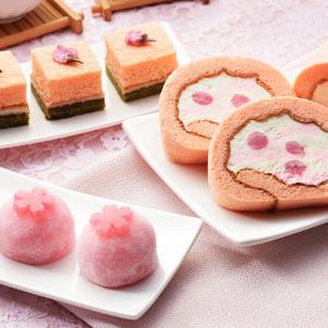桜スイーツセット【ザ・キッショウアン京都】