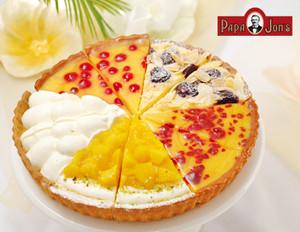 夏色フルーツタルトコレクション【チーズケーキのパパジョンズ】