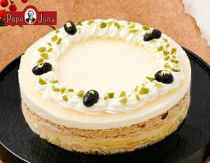 あずきと日本酒ムースのチーズケーキ【チーズケーキのパパジョンズ】