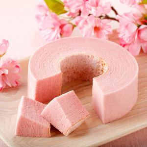 桜バウム TSUMUGI【石屋製菓】