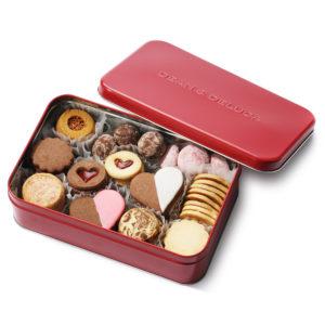 バレンタインクッキー缶【DEAN&DELUCA】