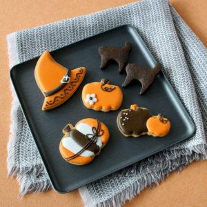 ハロウィンのアイシングクッキーギフト【La Poche】